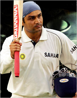 Virender Sehwag - Indian Cricketer