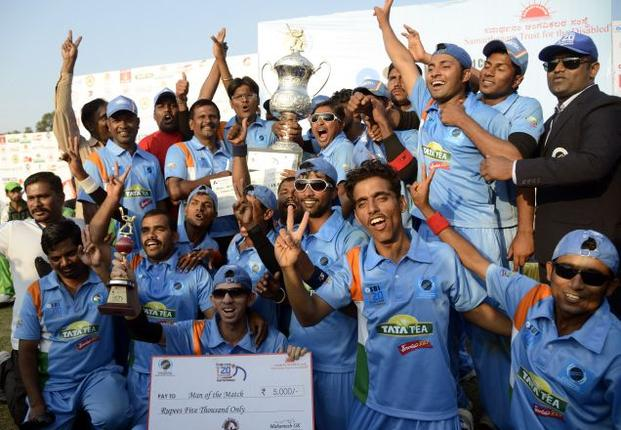 Indian wins the T20 world cup for blind