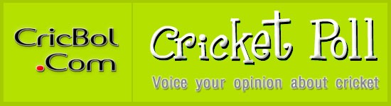 Cricket Poll - voice your opinion about cricket