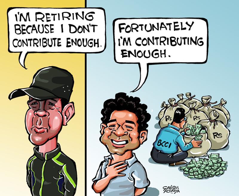 Sachin and Ponting parody