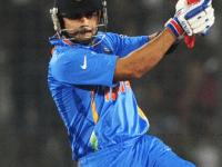 Virat Kohli swivels into a pull