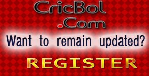 register on CricBol.com Cricket community
