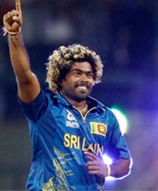 Malinga in action