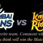 IPL 7 - 2014 - Mumbai Indians vs Kolkata Knight Riders