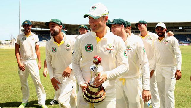 Australia won test series
