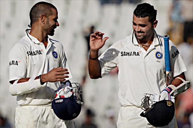 shikhar dhawan And Murli Vijay