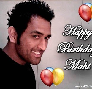 happy birtday msd