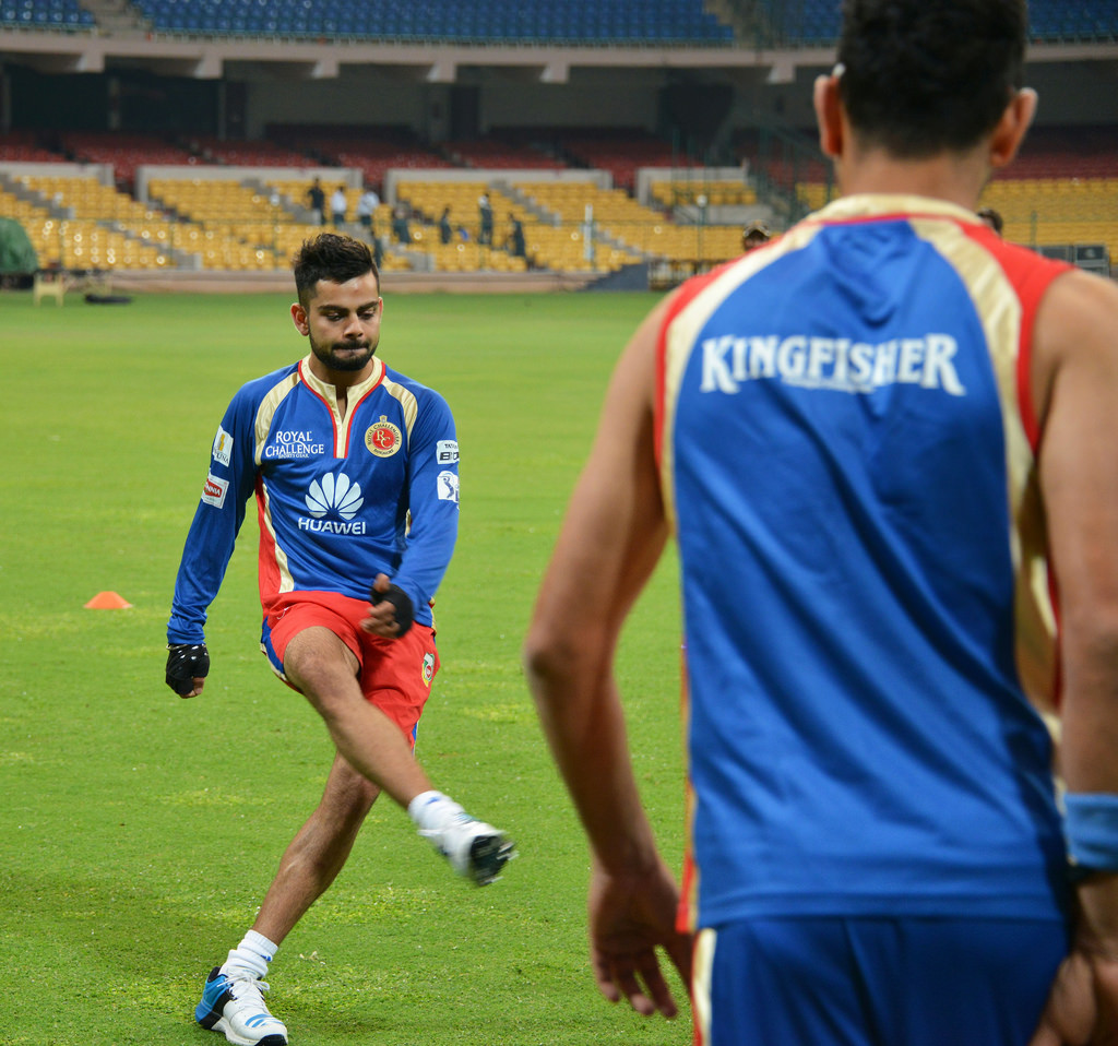 Virat Kohli, Shanker Basu, Fitness, Board of control for cricket in India, Royal Challengers Banglore