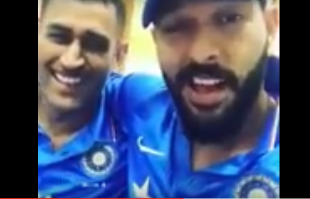 MS Dhoni and Yuvraj Singh praising each other