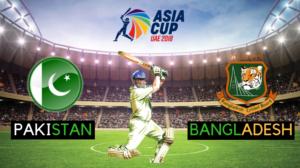 bangladesh vs pakistan asia cup 2018