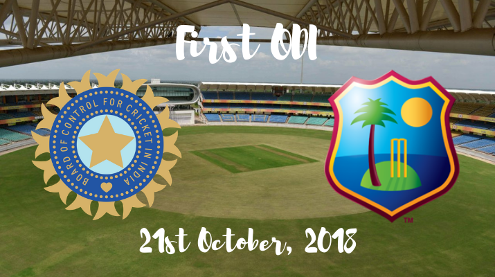 India vs west indies first odi