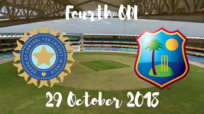 India vs west indies fourth odi