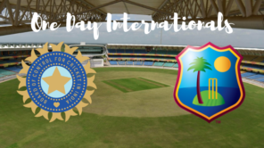India vs west indies odi's
