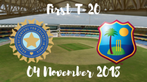 India vs west indies first T20