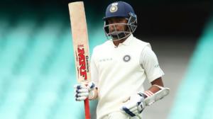 india vs australia prithvi shaw