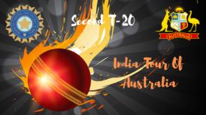 india vs australia second T20