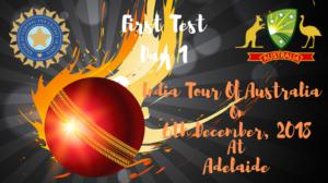 india vs australia first test day 1