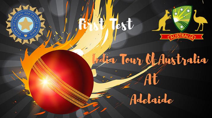 india vs australia first test