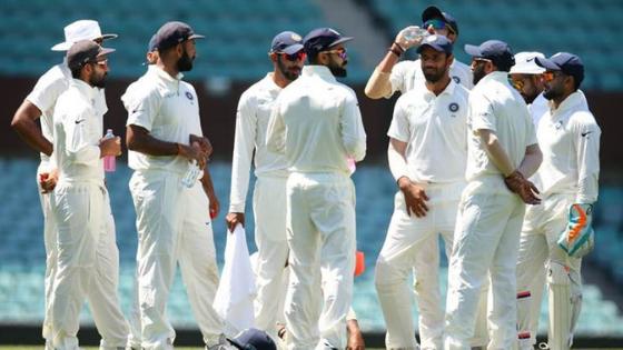 india vs australia second test