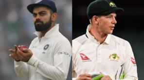 india vs australia virat kohli and tim paine