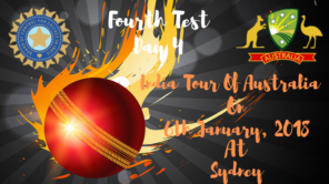 india vs australia fourth test day 4