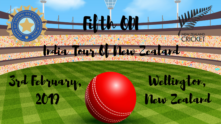 india vs new zealand fifth odi