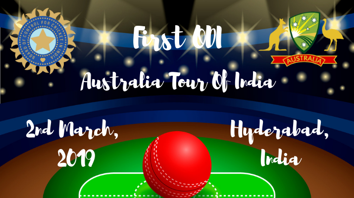 india vs australia first odi