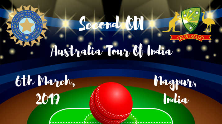 india vs australia second odi